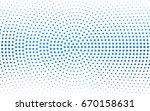 light blue vector pattern of... | Shutterstock .eps vector #670158631