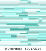 Vector Turquoise Line Pattern....