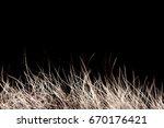 texture of fur. red brown grey...   Shutterstock . vector #670176421