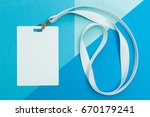 blank security tag with white... | Shutterstock . vector #670179241