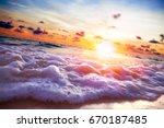 scenery seascape.close up image ... | Shutterstock . vector #670187485