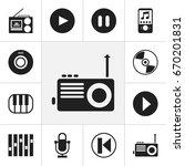 set of 12 editable mp3 icons....