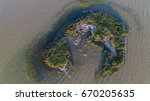 dalmatian pelicans  pelecanus... | Shutterstock . vector #670205635