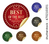 best of the best. | Shutterstock .eps vector #670210351