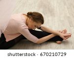 young beautiful graceful... | Shutterstock . vector #670210729