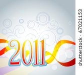 vector new year stylish... | Shutterstock .eps vector #67021153