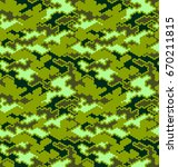 camouflage pattern background... | Shutterstock .eps vector #670211815