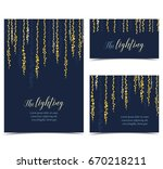 vector string lights | Shutterstock .eps vector #670218211