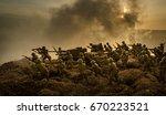 war concept. military...   Shutterstock . vector #670223521