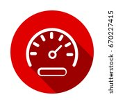 vector speedometer icon... | Shutterstock .eps vector #670227415