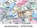 Us Dollars Euro Yen.