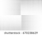 abstract halftone dotted... | Shutterstock .eps vector #670238629