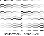 abstract halftone dotted... | Shutterstock .eps vector #670238641