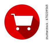 shopping icon vector isolated...