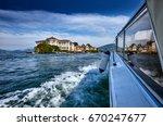view of lago maggiore  stresa... | Shutterstock . vector #670247677