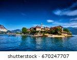 view of lago maggiore  stresa... | Shutterstock . vector #670247707