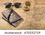 planning travel concept ... | Shutterstock . vector #670252729
