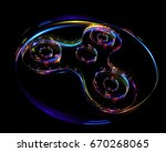3d illustration of fidget... | Shutterstock . vector #670268065