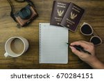 differnt objects for prepare... | Shutterstock . vector #670284151