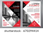 business brochure. flyer design.... | Shutterstock .eps vector #670294414