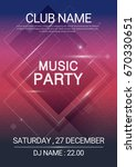square music party edm sound... | Shutterstock .eps vector #670330651