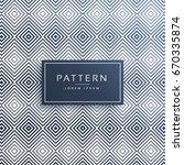 elegant line pattern vector... | Shutterstock .eps vector #670335874