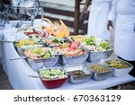 park picnic | Shutterstock . vector #670363129