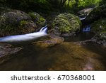 Mountain Stream  River. Saga ...