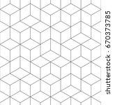 pattern geometric texture.... | Shutterstock .eps vector #670373785