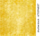 gold folding screen | Shutterstock . vector #670396837