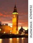 Big Ben  Westminster  London...