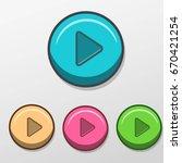 button cartoon play