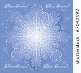 christmas background with a... | Shutterstock .eps vector #67042192