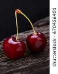 Small photo of cherry with sweet taste