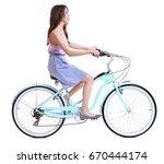 Beautiful Young Woman Riding...