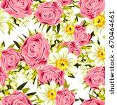 abstract elegance seamless... | Shutterstock .eps vector #670464661