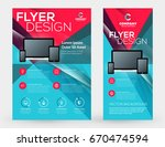abstract vector business... | Shutterstock .eps vector #670474594