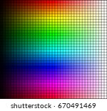 color spectrum mosaic  hue and