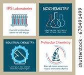 molecular and industrial... | Shutterstock .eps vector #670491499