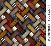 seamless background pattern.... | Shutterstock .eps vector #670513747