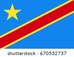 democratic republic of the... | Shutterstock .eps vector #670532737