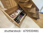 modern architecture interior... | Shutterstock . vector #670533481