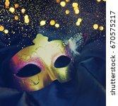 carnival mask | Shutterstock . vector #670575217