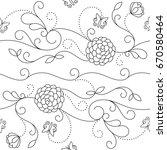 seamless pattern | Shutterstock .eps vector #670580464