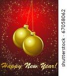 christmas background | Shutterstock .eps vector #67058062