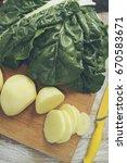 potatoes and mangold | Shutterstock . vector #670583671