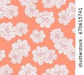 flower illustration pattern   Shutterstock .eps vector #670615741