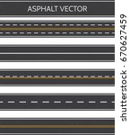 Asphalt  A Set Of Road Types...