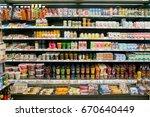 seoul  south korea   circa may  ...   Shutterstock . vector #670640449