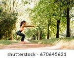 beautiful caucasian girl...   Shutterstock . vector #670645621